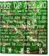 Prayer Of The Woods 2.0 Acrylic Print