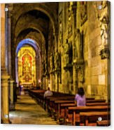 Prayers In The Cathedral Acrylic Print