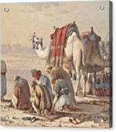 Prayers In The Desert Acrylic Print