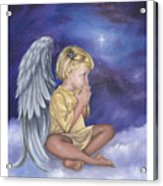 Praying Angel Acrylic Print