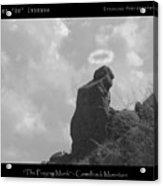 Praying Monk - Arizona - Poster Print Acrylic Print