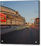 Pre-game Cubs Traffic Acrylic Print