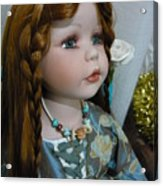 Pre Raphaelite Doll  Acrylic Print