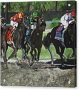 Preakness 2010 Horse Racing Acrylic Print