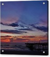 Predawn Avon Pier 1 4/10 Acrylic Print