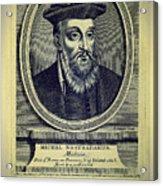 Predictions Of Nostradamus 4 Acrylic Print
