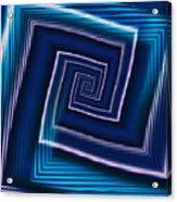 Predominantly Blue Acrylic Print