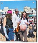 Pregnant Pirate Acrylic Print