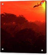 Prehistoric Dawn Acrylic Print
