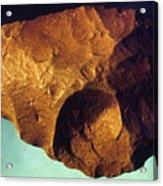 Prehistoric Flint Blade Acrylic Print