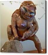 Prehistoric Madonna Acrylic Print
