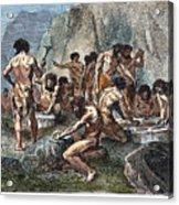 Prehistoric Man: Tools Acrylic Print