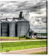 Premier Grain - Ganado, Tx Acrylic Print