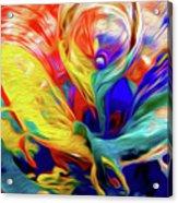 Premorphationism Glass Acrylic Print