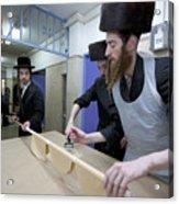 Preparing Matzah Israel Acrylic Print