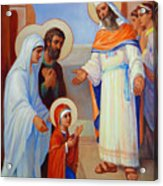 Presentation Of Mary In The Temple  Acrylic Print