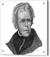 President Andrew Jackson Acrylic Print
