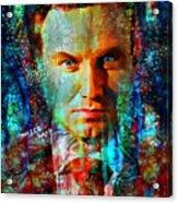 President Andrzej Duda Portrait Acrylic Print