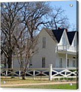 President Dewight Eisenhower Birthplace Acrylic Print