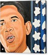 President Elect Obama Acrylic Print