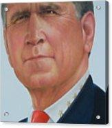 President George W. Bush Acrylic Print