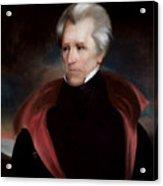 President Jackson Acrylic Print