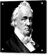 President James Buchanan Graphic Acrylic Print