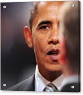 President Obama II Acrylic Print