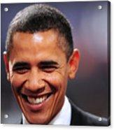President Obama IIi Acrylic Print