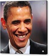 President Obama Iv Acrylic Print