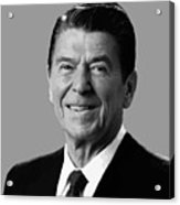 President Reagan Acrylic Print by War Is Hell Store