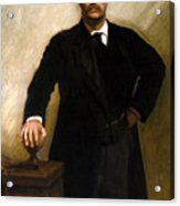 President Theodore Roosevelt Painting Acrylic Print