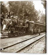 President William Mckinleys Presidential Locomotive No. 1456  May 1901 Acrylic Print