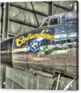 Presidential Aircraft - Lockheed Vc-121e Columbine Acrylic Print