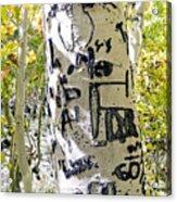 Presidential Tree Acrylic Print