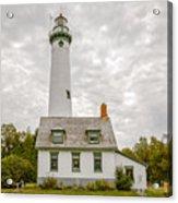 Presque Isle Lighthouse  - Lake Huron, Lower Peninsula, Mi Acrylic Print