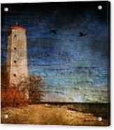Presquile Lighthouse Acrylic Print
