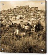 Pretoro - Landscape In Sepia Tones  Acrylic Print