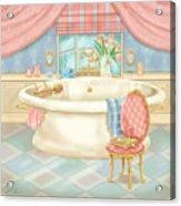 Pretty Bathrooms II Acrylic Print