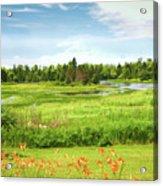 Pretty Countryside Acrylic Print