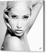 Pretty Face - Check For Full Size - Image Is Intentionally Unfocussed  Acrylic Print