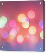 Pretty Pastels Abstract Acrylic Print