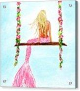 Pretty Pink Swing Acrylic Print