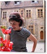 Pretty Woman In Neauchatel 2 Acrylic Print