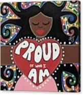 Pride Goddess Acrylic Print
