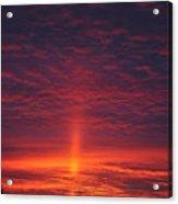 Pride Of The Prairie Sunset Acrylic Print