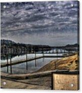 Priest River Panorama 6 Acrylic Print