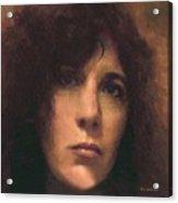 Priestess Of Avalon Acrylic Print