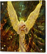 Priestess Of The Woods-angel Tarot Card Acrylic Print