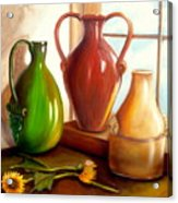 Primarily Jugs. Sold Acrylic Print